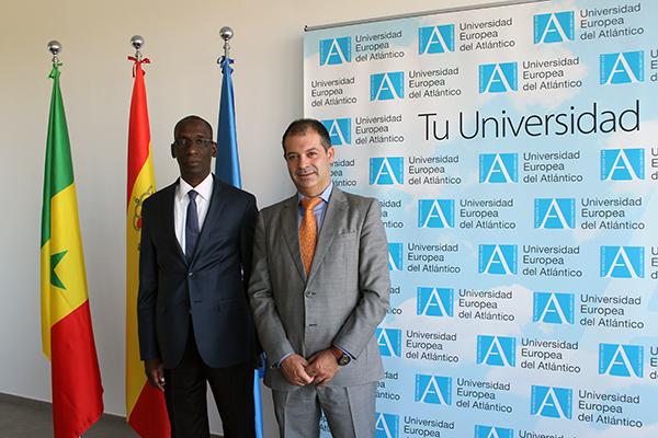 L'ex-ministre sénégalais Mamadou Diop Decroix visite aujourd'hui les locaux de l'UNEATLÁNTICO