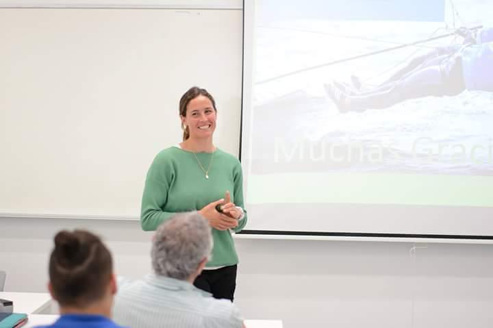 Berta Betanzos qui a suivi la première année de CAFYD à l'UNEATLÁNTICO, a obtenu le diplôme olympique à Rio.