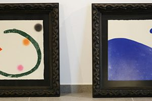 L'UNEATLÁNTICO inaugure jeudi prochain une exposition de 32gravures de Joan Miró à Santillana del Mar