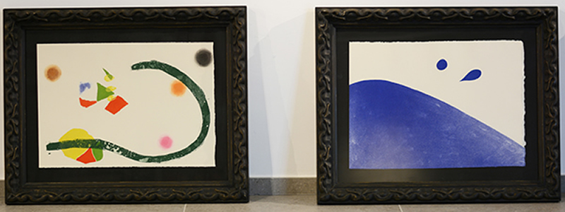 L'UNEATLÁNTICO inaugure jeudi prochain une exposition de 32 gravures de Joan Miró à Santillana del Mar