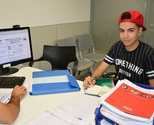 Othmane Touri, nouvel étudiant de l'UNEATLÁNTICO
