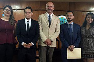 Juan Luis Martín se rend en Amérique centrale pour présenter le nouveau Master en Intervention psychologique dans le Développement et l'Éducation.