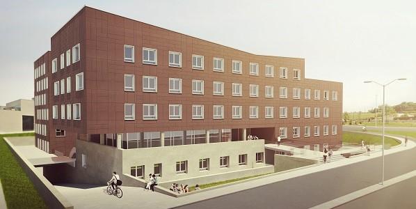 Les travaux de la nouvelle résidence pour étudiants, professeurs et chercheurs avancent à grands pas