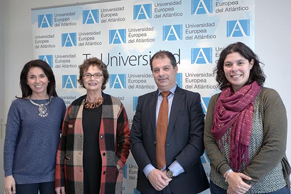 Eva de la Fuente, Esperanza Botella, Rubén Calderón y María Blanco