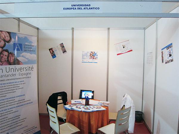 UNEATLÁNTICO participe à la I Foire Étudier en Espagne tenue à Casablanca et à Tanger