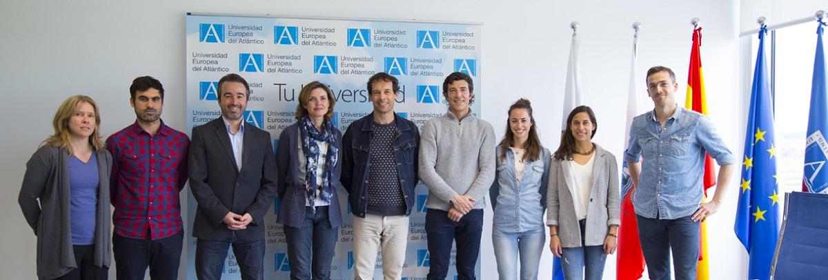 Une délégation de professeurs de la Howest Hogeschool de Belgique visite UNEATLANTICO