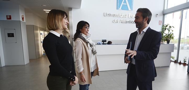 Des étudiants de la Grande École d'Ingénieurs de Paris en séjour à l'UNEATLANTICO pour quatre mois