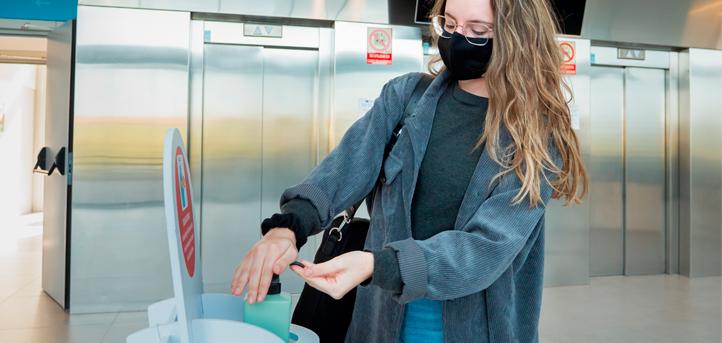 UNEATLANTICO effectue ses activités académiques en présentiel dans le respect des mesures de sécurité et d'hygiène établies par les autorités sanitaires