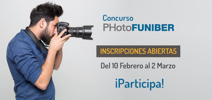 Début de la 3e édition du Concours International de Photographie PHotoFUNIBER'21