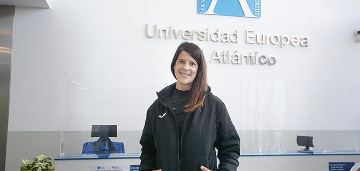 Ruth Beitia, médaillée olympique et enseignante de l'UNEATLANTICO, parle du rôle de la femme dans le milieu sportif