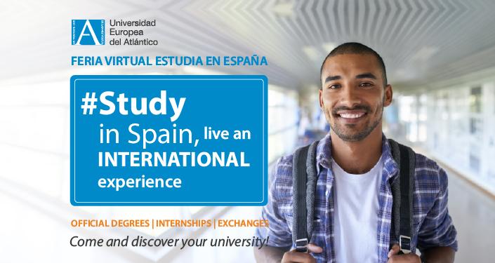 UNEATLANTICO participe à la 1ère Foire Virtuelle « Étudier en Espagne » destinée aux étudiants d'Afrique subsaharienne