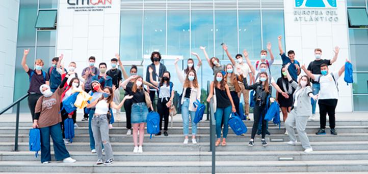 UNEATLANTICO accueille les étudiants du programme Erasmus
