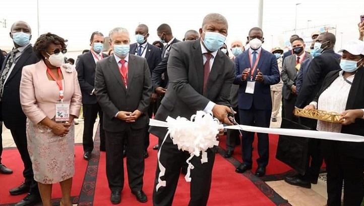 Le président de l'Angola a inauguré l'Universidade Internacional do Cuanza, parrainée par la Fondation Universitaire Ibéro-américaine